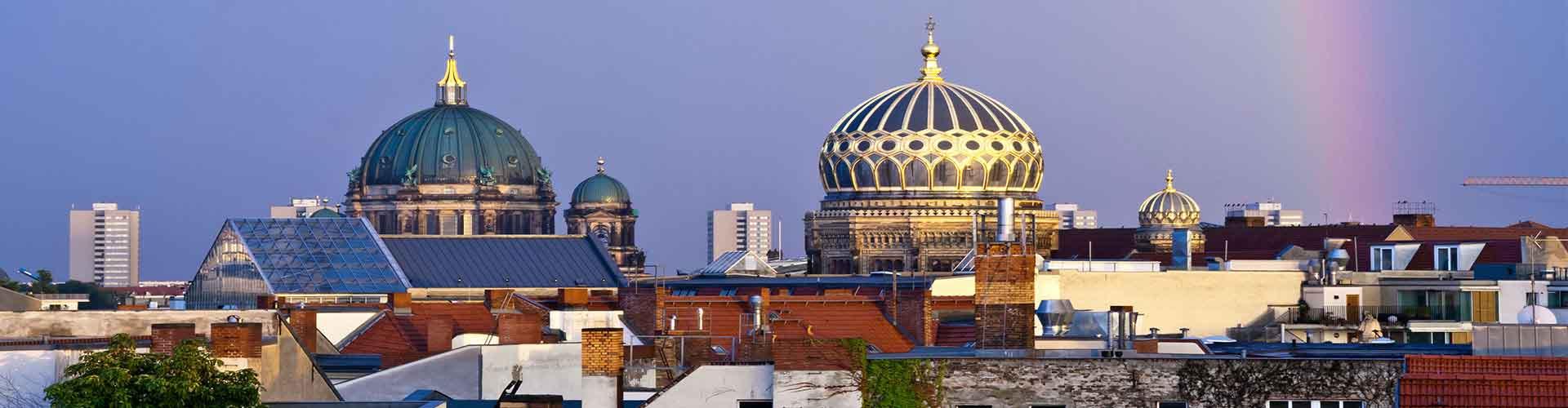 베를린 - 뉴 시나고그에 가까운 호스텔. 베를린의 지도, 베를린에 위치한 호스텔에 대한 사진 및 리뷰.
