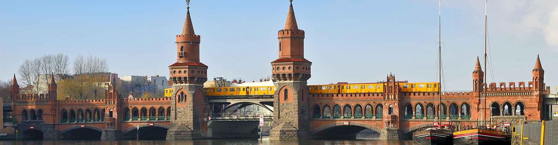 베를린 - 오버바움브뤼케에 가까운 호스텔. 베를린의 지도, 베를린에 위치한 호스텔에 대한 사진 및 리뷰.