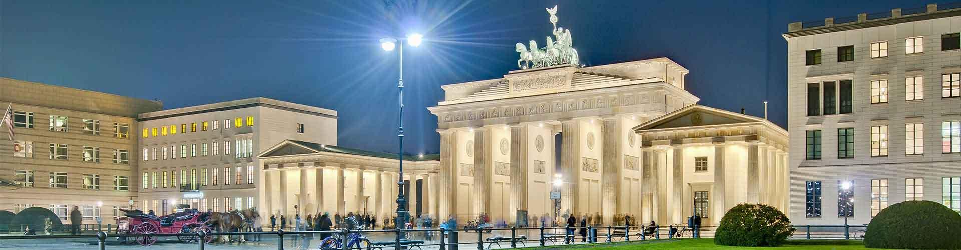 베를린 - 파리저 광장에 가까운 호스텔. 베를린의 지도, 베를린에 위치한 호스텔에 대한 사진 및 리뷰.