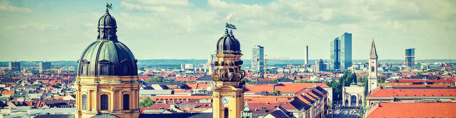 뮌헨 - 뮌헨에 있는 호스텔. 뮌헨의 지도, 뮌헨에 위치한 호스텔 사진 및 후기 정보.
