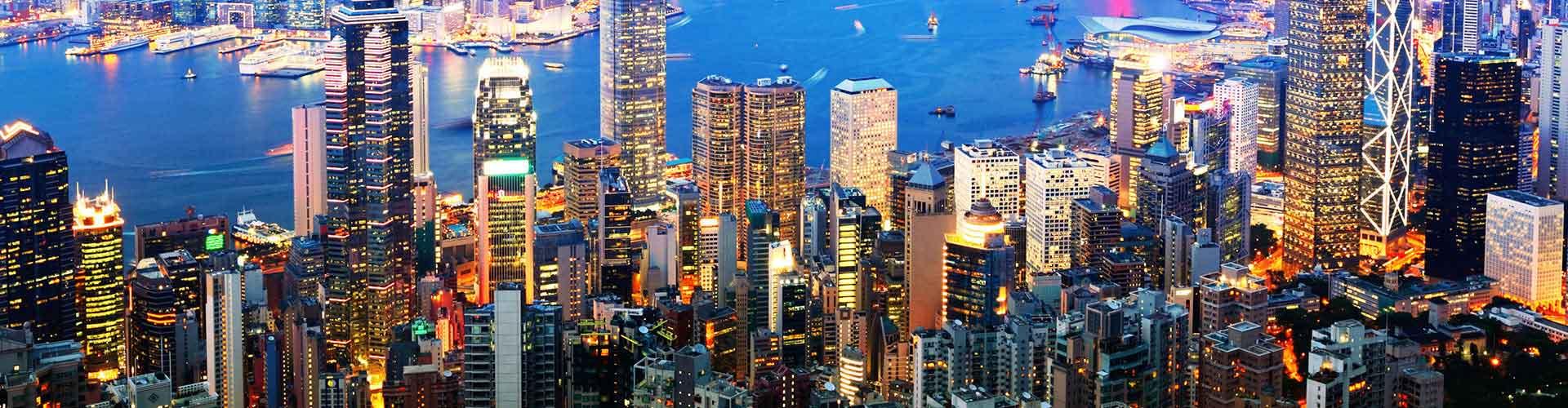 홍콩 - 홍콩에 위치한 아파트.  홍콩의 지도, 홍콩에 위치한 아파트에 대한 사진 및 리뷰.