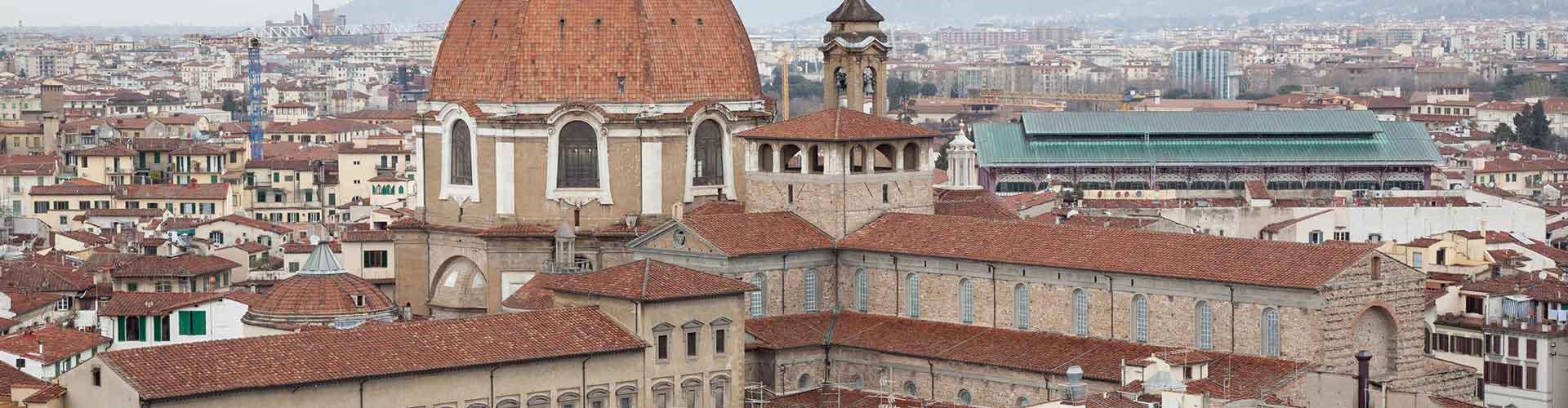 피렌체 - San Lorenzo 지구의 호스텔. 피렌체의 지도, 피렌체에 위치한 호스텔 사진 및 후기 정보.