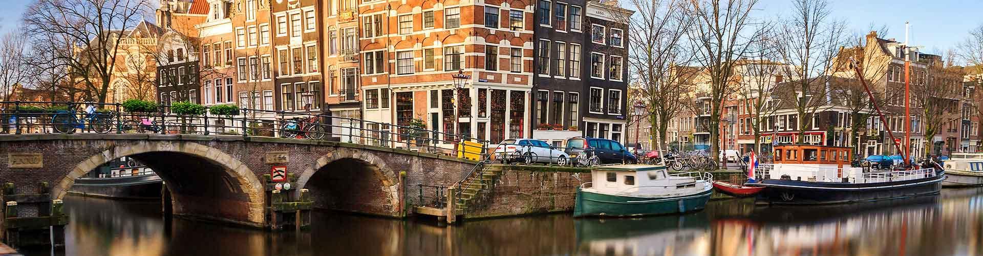 암스테르담 - 암스테르담 홀른드레크트 기차역와 가까운 호스텔. 암스테르담의 지도, 암스테르담에 위치한 호스텔 사진 및 후기 정보.