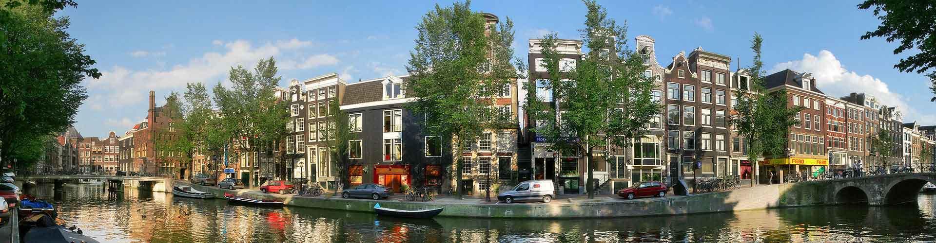 암스테르담 - 시티 센터와 가까운 호스텔. 암스테르담의 지도, 암스테르담에 위치한 호스텔 사진 및 후기 정보.