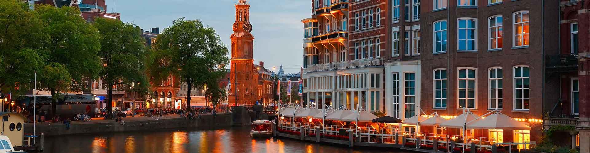 암스테르담 - 뮌트탑와 가까운 호스텔. 암스테르담의 지도, 암스테르담에 위치한 호스텔 사진 및 후기 정보.