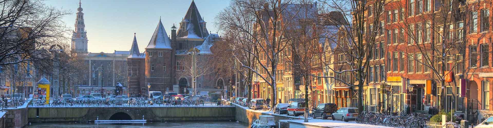 암스테르담 - 신 시장거리에 가까운 아파트. 암스테르담의 지도, 암스테르담에 위치한 아파트에 대한 사진 및 리뷰.