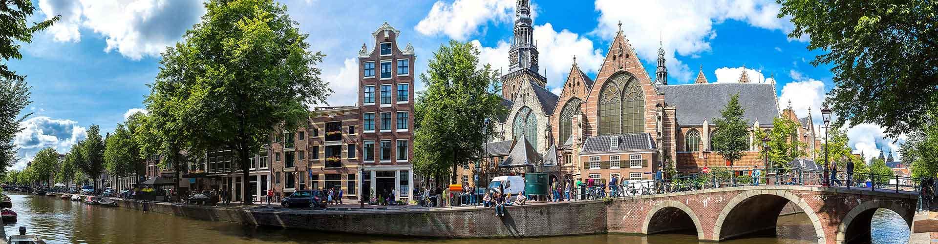 암스테르담 - 암스테르담 구교회에 가까운 호스텔. 암스테르담의 지도, 암스테르담에 위치한 호스텔에 대한 사진 및 리뷰.