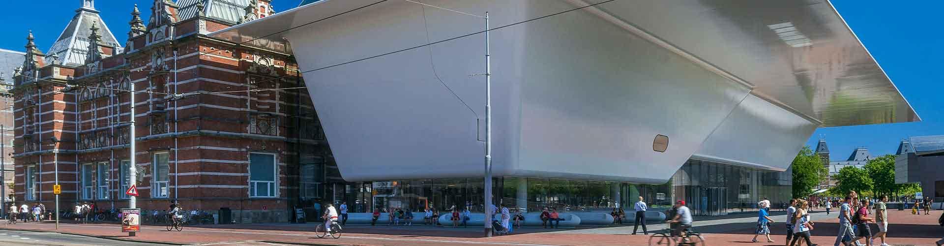 암스테르담 - 스테데리크 박물관에 가까운 호스텔. 암스테르담의 지도, 암스테르담에 위치한 호스텔에 대한 사진 및 리뷰.