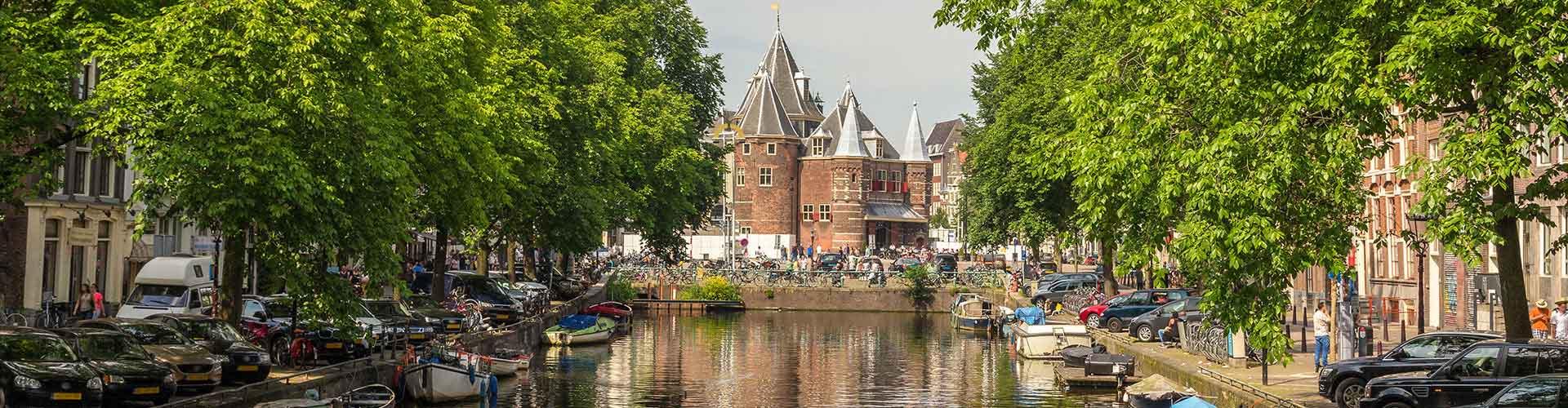 암스테르담 -  웨이하우스  에 가까운 아파트. 암스테르담의 지도, 암스테르담에 위치한 아파트에 대한 사진 및 리뷰.