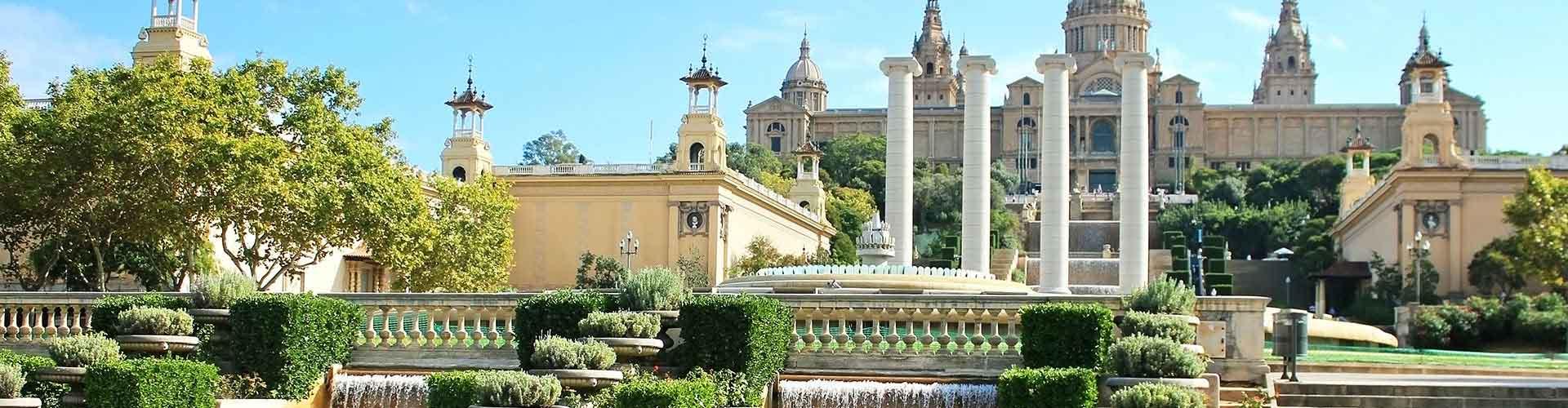 바르셀로나 - Sagrada Família와 가까운 호스텔. 바르셀로나의 지도, 바르셀로나에 위치한 호스텔 사진 및 후기 정보.