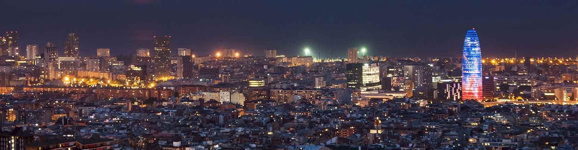 바르셀로나 - 아그바 타워에 가까운 캠핑장. 바르셀로나의 지도, 바르셀로나에 위치한 캠핑장에 대한 사진 및 리뷰.